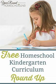 free homeschool kindergarten curriculum up year homeschooling
