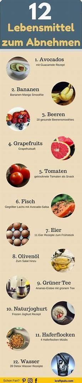12 lebensmittel zum abnehmen rezepte gesunde