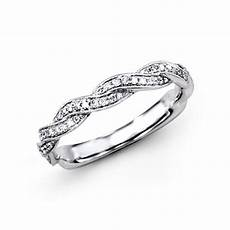 simon g platinum braided collection diamond wedding band