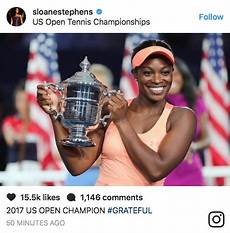 rhymes with snitch and entertainment news sloane stephens wins the u s open