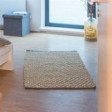 teppich natur teppich jute l 228 ufer natur handarbeit 80x200 70x140 cm