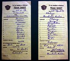 chelsea v manchester united team sheets 28th april 1973 national football collection