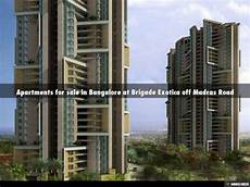 Apartments For Sale In Road Bangalore by Apartments For Sale In Bangalore At Brigade Exotica