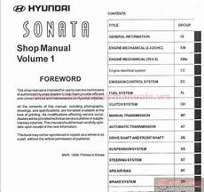free online auto service manuals 1996 hyundai sonata security system hyundai sonata 1999 service manual auto repair manual forum heavy equipment forums