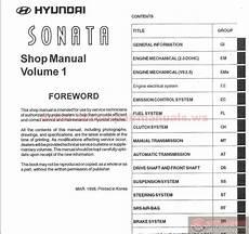car owners manuals free downloads 2001 hyundai sonata interior lighting hyundai sonata 1999 service manual auto repair manual forum heavy equipment forums
