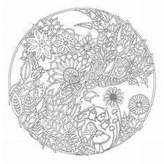 Aquarell Malvorlagen Quest Wald Mandala Malvorlagen Malen Ausmalbilder