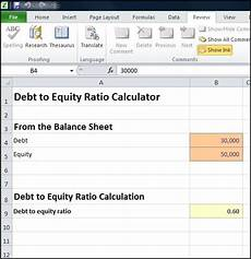debt to equity ratio calculator double entry bookkeeping