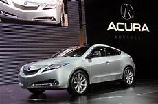 2009 new york international auto show acura zdx debuts