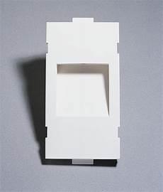 recessed plaster step light square insert design