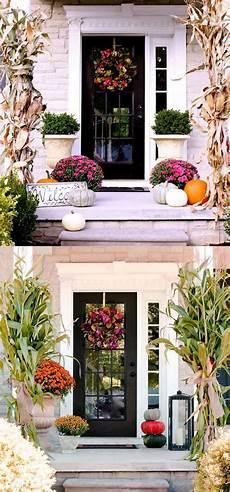 Decorations Front Door by 25 Splendid Front Door Diy Fall Decorations Page 2 Of 3