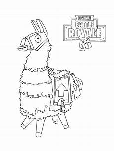 Malvorlagen Jungs Royale Fortnite Coloring Pages Clipart Battle Royale Lama 20