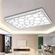 Led Beleuchtung Wohnzimmer Decke - 12w led living room lights rectangle brief modern ceiling