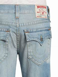 true religion billy distressed bootcut in light wash