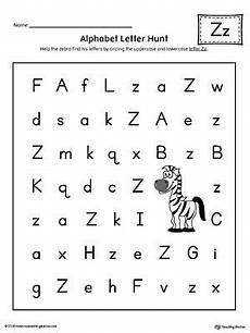 pre k letter z worksheets 24432 alphabet letter hunt letter z worksheet color lettre a