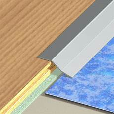 barre de seuil pour lino barre de seuil inox gris l 93 x l 3 cm leroy merlin
