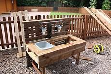 Kinderküche Aus Paletten - to build a play kitchen with pallets 5