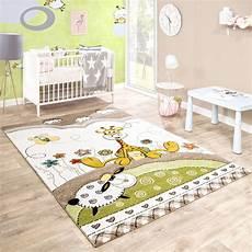 babyzimmer teppich kinderteppich baby giraffe pastellt 246 ne beige teppich de
