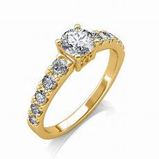 0 90 carat 18k yellow gold true love engagement ring engagement rings at best prices in india