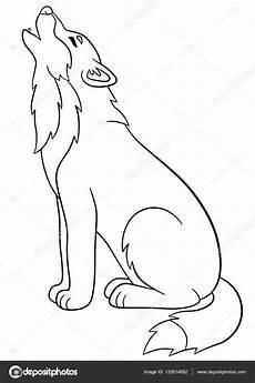 Malvorlagen Wolf Craft Wolf Mond Malvorlage Coloring And Malvorlagan