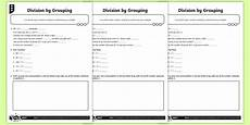 division as grouping worksheets for grade 1 6767 division by grouping worksheet worksheets