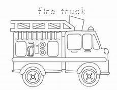 Gratis Malvorlagen Feuerwehrauto Preschool Safety Booklet Printables