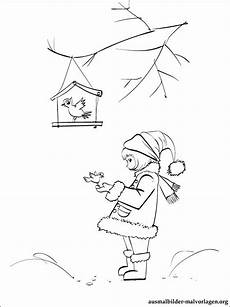 Vogel Malvorlagen Instagram Ausmalbilder Winter Vogel