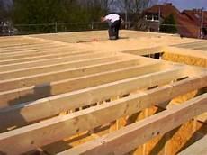 Bau Eines Holzhauses In Energieeffizienter
