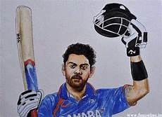 Virat Kohli Painting Images