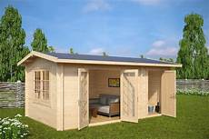 summer house with shed fred 15m 178 5x3m 44mm