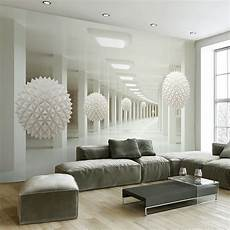 wohnzimmer tapete modern modern simple 3d stereo abstract space white sphere mural