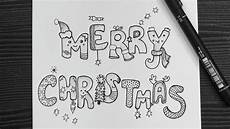 merry christmas drawing lettering easy drawing for christmas how to write merry