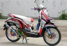 Modifikasi Scoopy 2011 by Honda Scoopy 2011 Bekasi Modification Modifikasi Honda