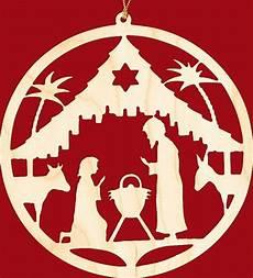 fensterbild weihnachten christgeburt rund