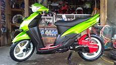 Motor Mio Sporty Modifikasi by Modifikasi Motor Mio Sporty Standar Thecitycyclist