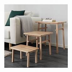 Ypperlig Tables Gigognes Lot De 3 Ikea