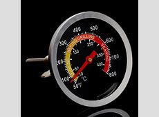 50 400? Stainless Steel BBQ Smoker Grill Thermometer