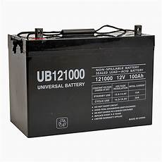 wayman agm batterie 12v 100ah 12v 100 ah ub121000 agm battery upg 45978
