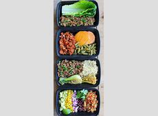 Easy Ground Turkey Meal Prep Bowls: 4 Ways   Smile Sandwich