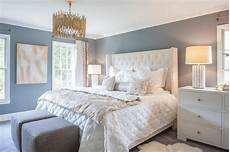 Bedroom Decor Ideas With Blue Walls by Restful White And Blue Bedroom Boasts Slate Blue Walls