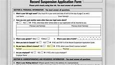 how to apply form chapter 6 step 8 record suspension application form
