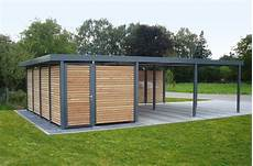 Doppelcarport Quot Made In Germany Quot Aus Stahl F 252 R 2 Autos Oder