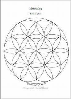 Mandala Malvorlagen Din A4 Mandala Ausmalbilder Vorlage Mandalas Zum Ausdrucken Blume