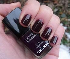 chanel le vernis longwear nail colour noir reviews