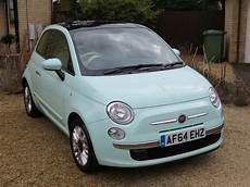 fiat 500 lounge 64 plate in desirable mint green colour
