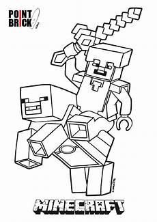 Malvorlagen Minecraft Steve Lego Minecraft Alex Malvorlagen Budies Color