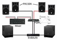 2 monitore miteinander verbinden anschlussvarianten aktivboxen mischpult verst 228 rker