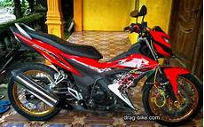 Honda Sonic Modifikasi by 98 Foto Modifikasi Motor Sonic Teamodifikasi