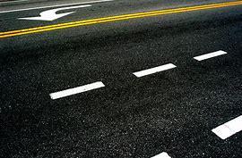 оранжевая разметка на дороге что обозначает