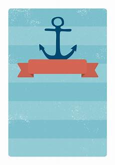 nautical birthday card template anchored ribbon free printable invitation template
