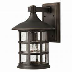 hinkley freeport rubbed bronze one light large outdoor